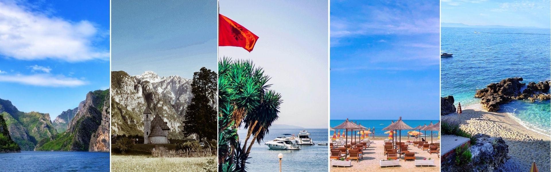 Albanija leto 2020